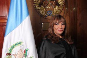 Silvia Valdés, presidenta interina del Organismo Judicial (OJ).