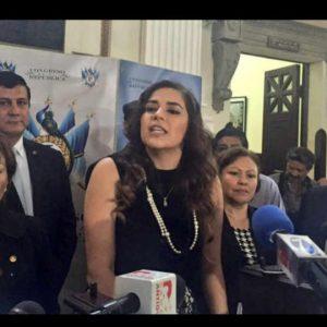 Bancada FCN-Nación expulsa a diputada Sandoval y a otros legisladores