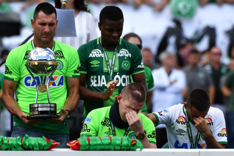 Chapecoense levantó la Copa Sudamericana