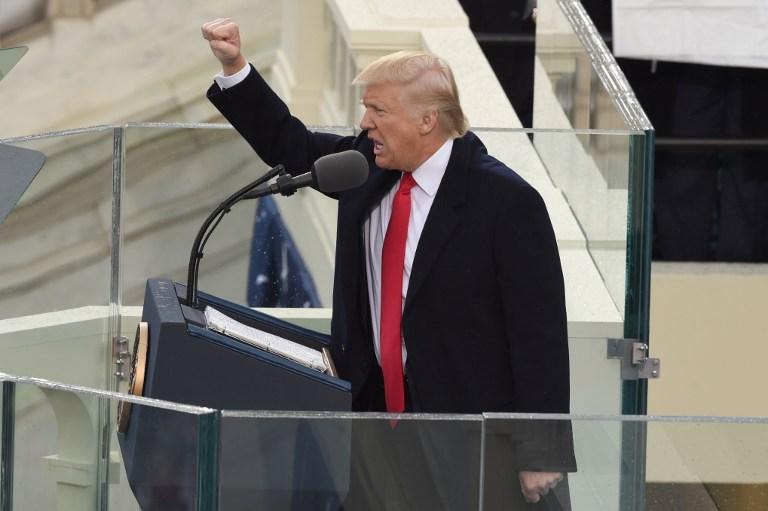 Toma de posesión de Donald Trump