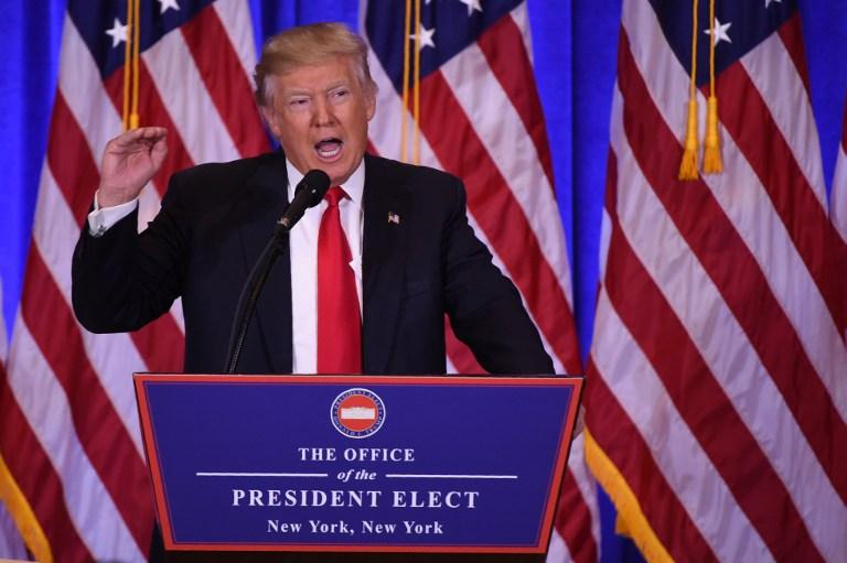 Primer discurso de Donald Trump como presidente electo