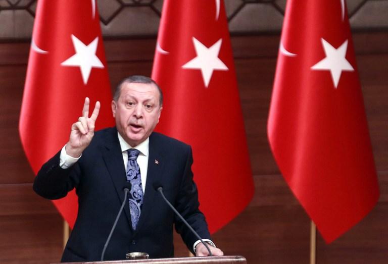 Discurso de Recep Tayyip Erdogan