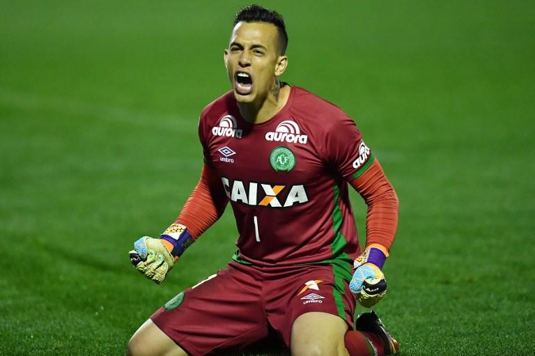 Danilo celebra un gol