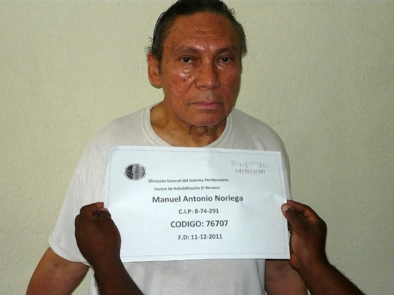 Exdictador Manuel Noriega