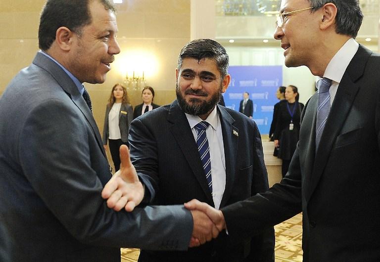 Negociaciones de paz en Kazajistán