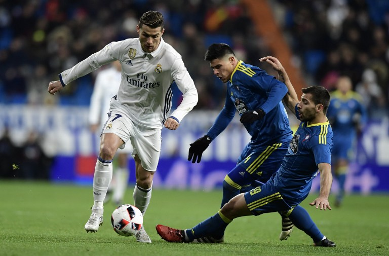 Cristiano Ronaldo vs Celta de Vigo