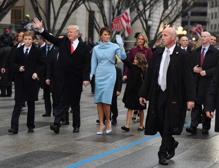 Desfile inaugural de Donald Trump