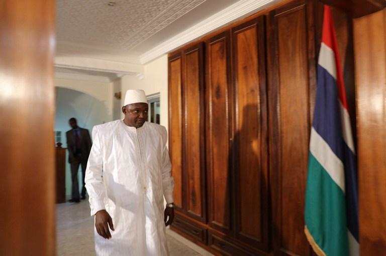 Adama Barrow, nuevo presidente de Gambia