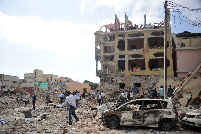 Explosión en hotel de Somalia