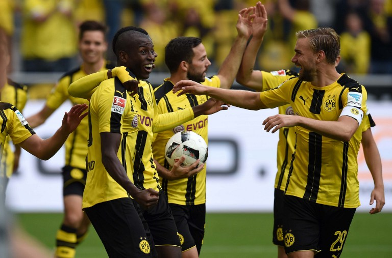 Gol del Borussia Dortmund