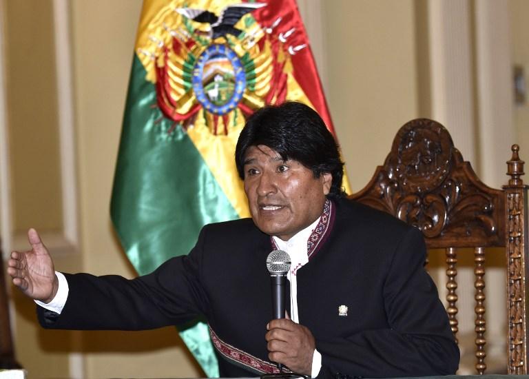 Discurso de Evo Morales