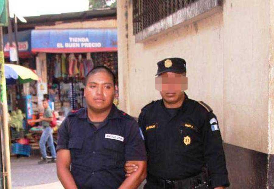 Policía de seguridad privada