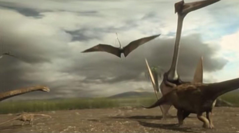 Pterosaurios Azhdarchidae