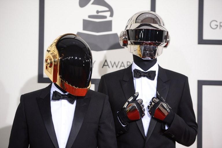 Daft Punk en los Premios Grammy 2014