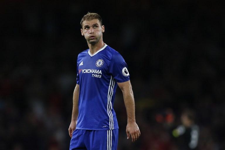 Branislav Ivanovic con el Chelsea