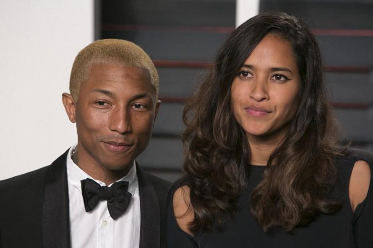 Pharrell Williams y su esposa