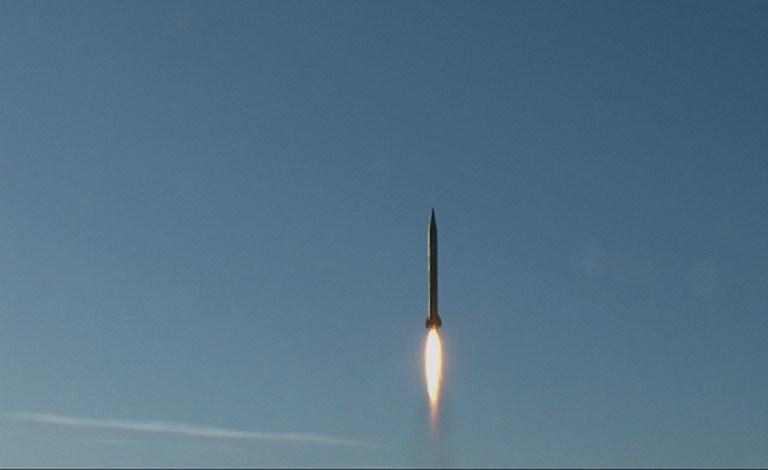 Prueba de misil