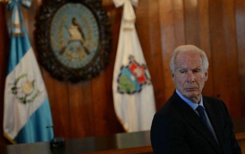 Alcalde capitalino Álvaro Arzú
