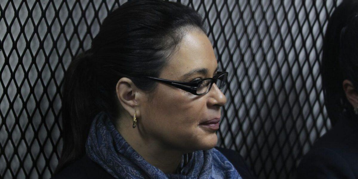 La exvicepresidenta Roxana Baldetti