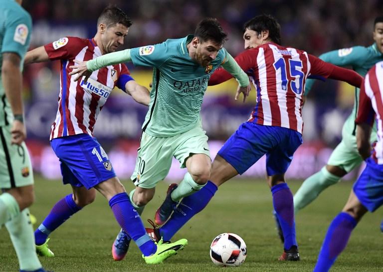 Leo Messi en el Vicente Calderón
