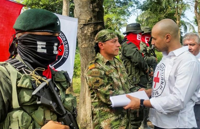 Soldado Fredy Moreno es liberado por el ELN