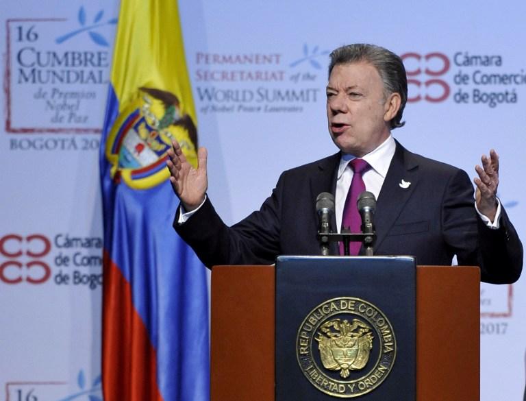 Discurso de Juan Manuel Santos en Bogotá