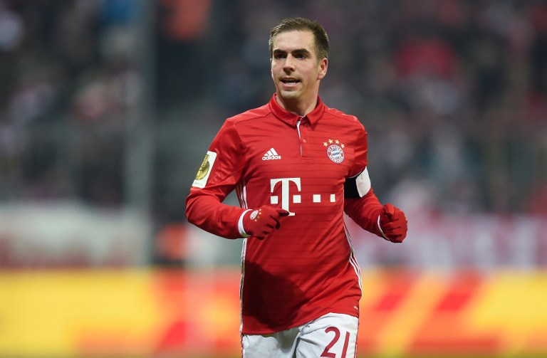 Phillip Lahm con el Bayern Múnich