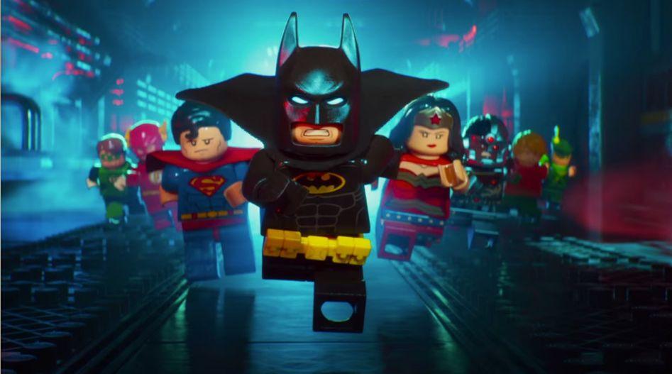 """Escena de """"LEGO Batman: Movie"""""""