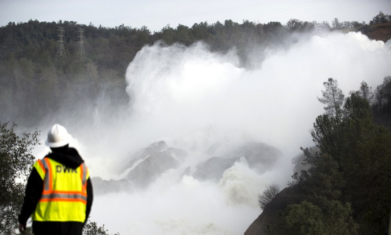 Temor por inundaciones en California