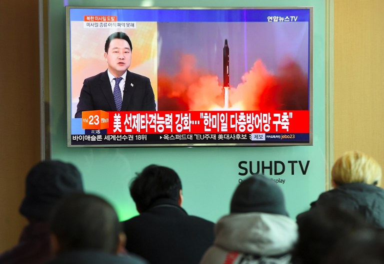 Lanzamiento de misil de Corea del Norte