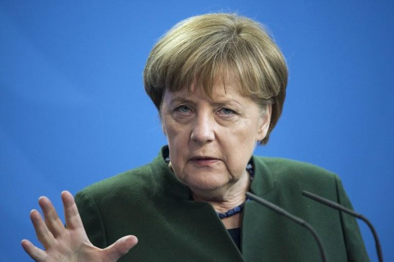 Angela Merkel en Alemania