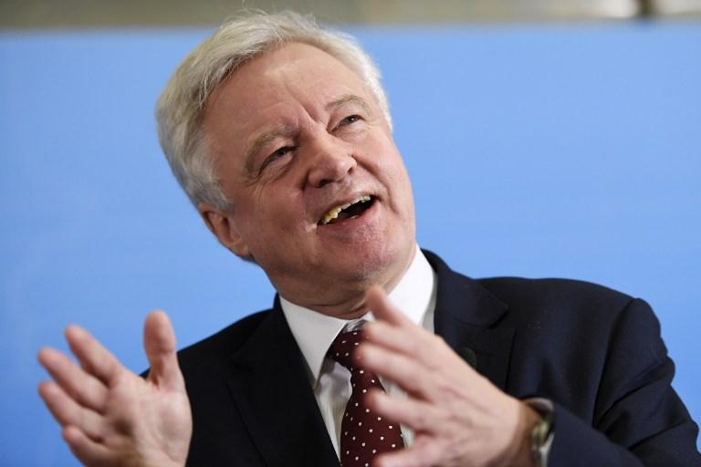 David Davis, secretario del Brexit