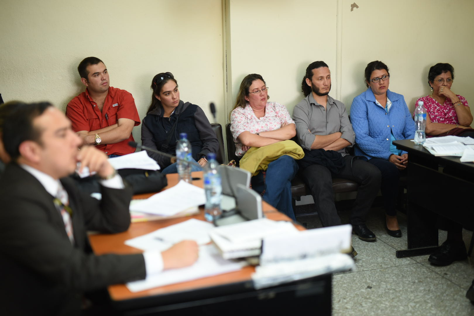 Audiencia a directivos en la Federación Nacional de Tiro