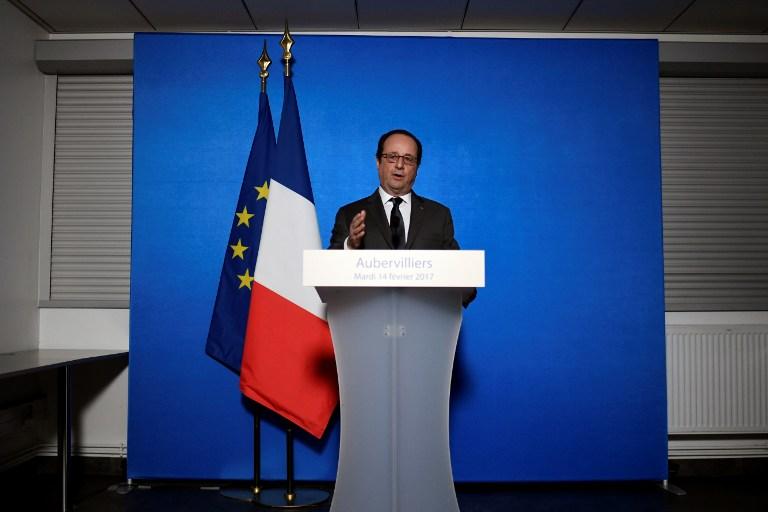 Conferencia de prensa de Francois Hollande