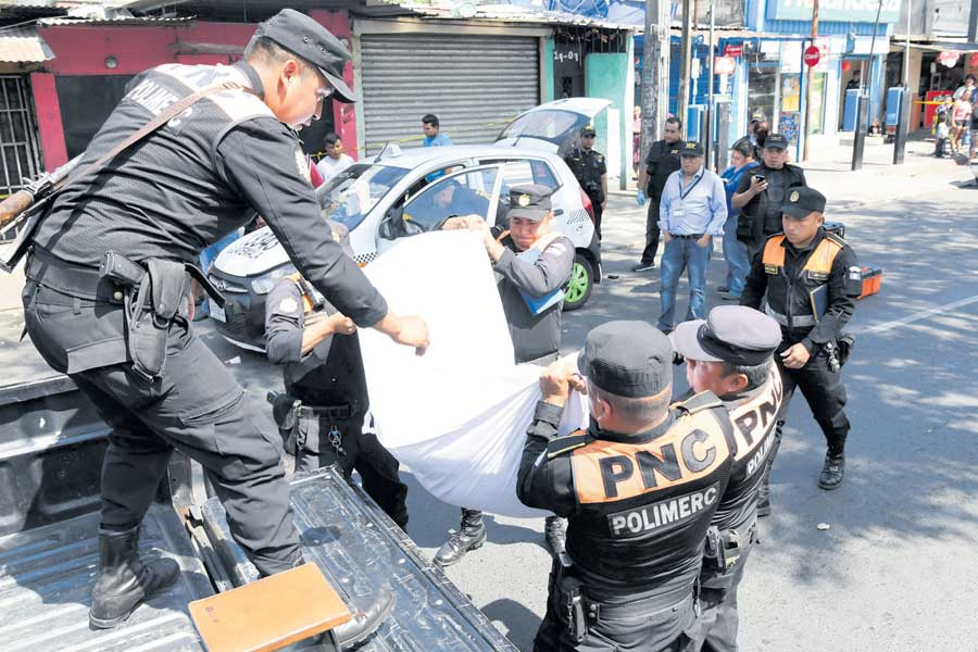 Taxistas asesinados