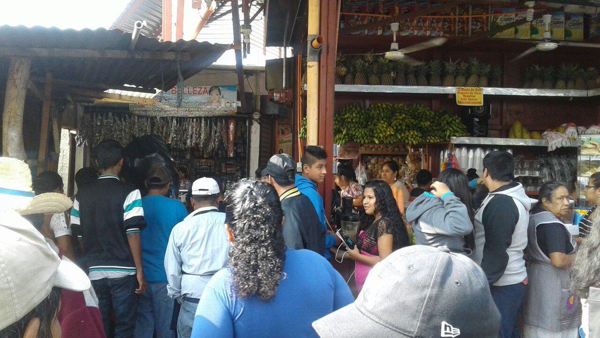 Explosión en mercado de Villa Nueva