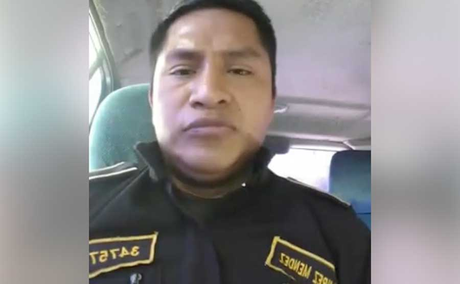 Agente Aníbal Ramírez