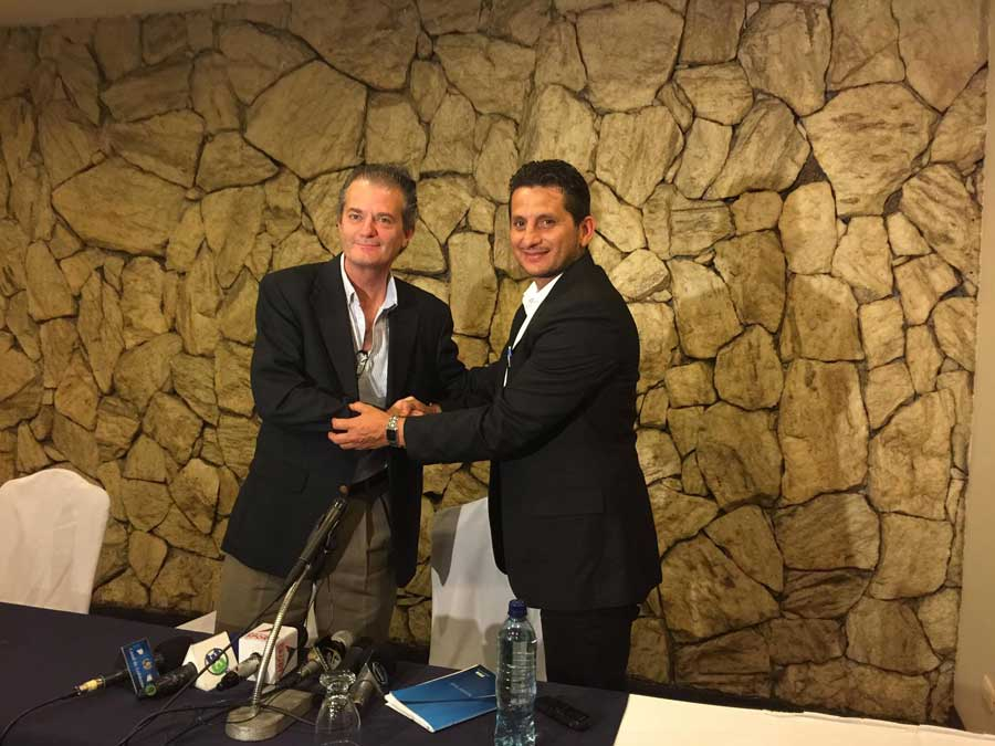 Pedro Portilla y Ronald González