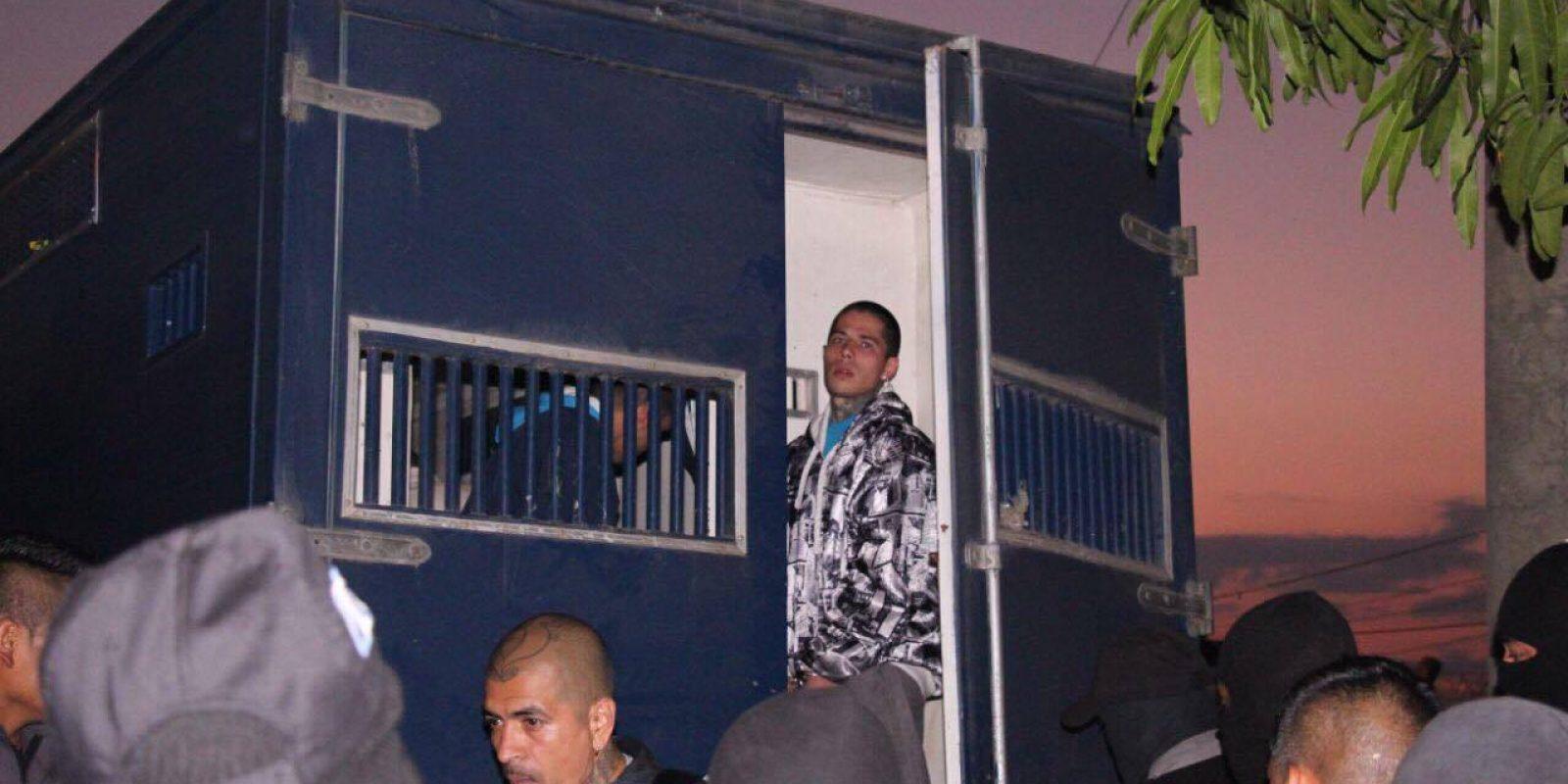 Pandilleros trasladados de cárcel