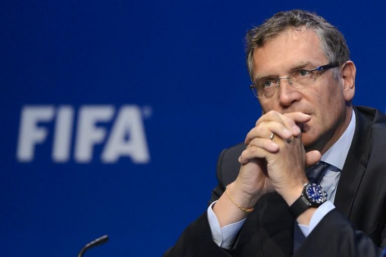 Jerome Valcke, exsecretario general de la FIFA