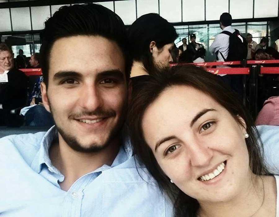 Alejandro y Cristina Tobar Risco