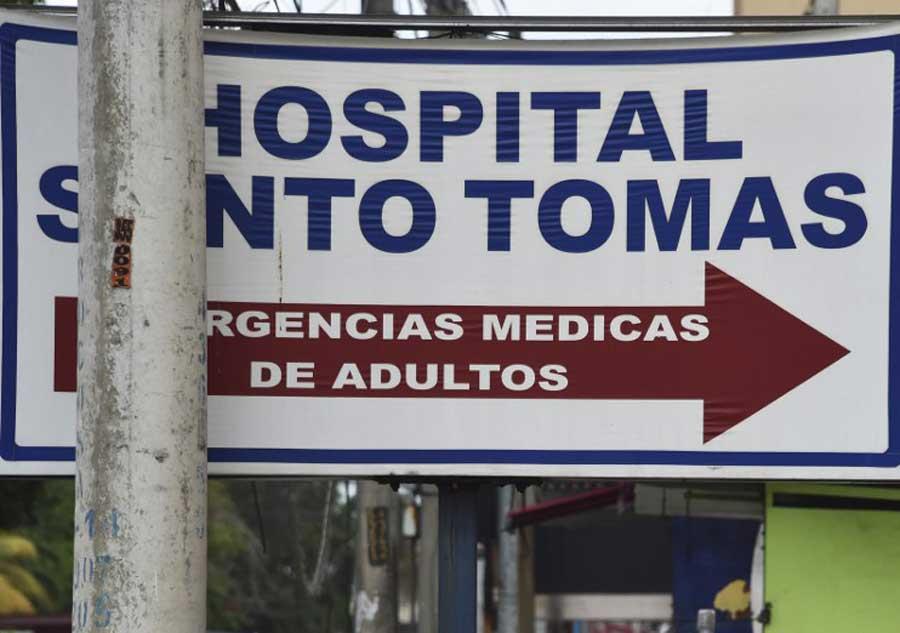 Hospital donde está internado Manuel Noriega