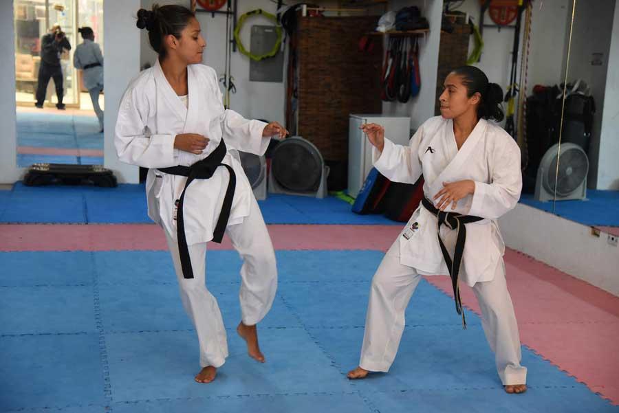 Karateca Cheili González