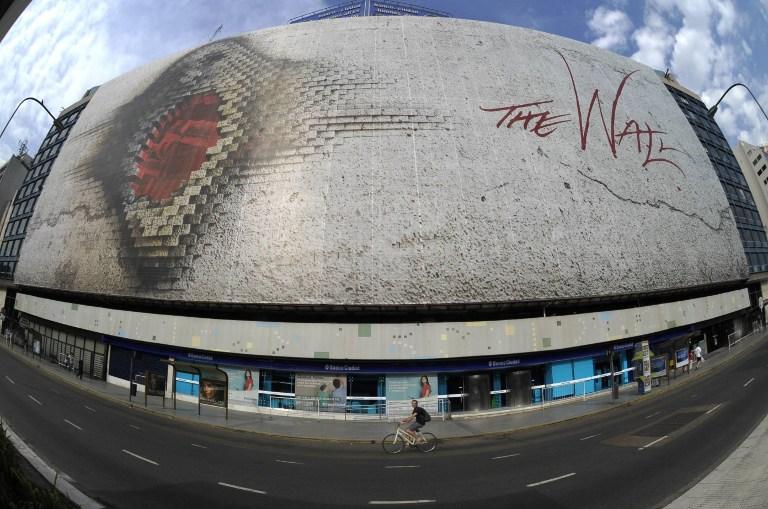 "Mural de ""The Wall"""
