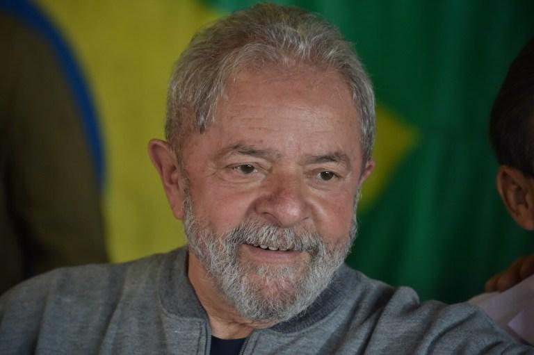 Lula da Silva sonriendo