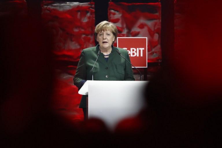 Discurso de Angela Merkel