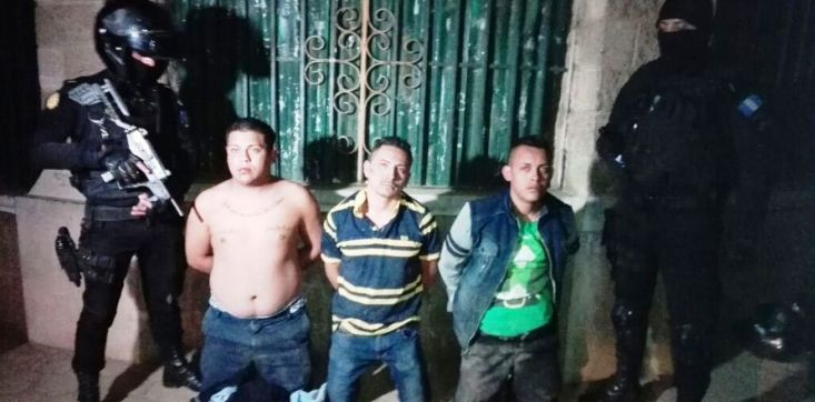 Pandilleros capturados