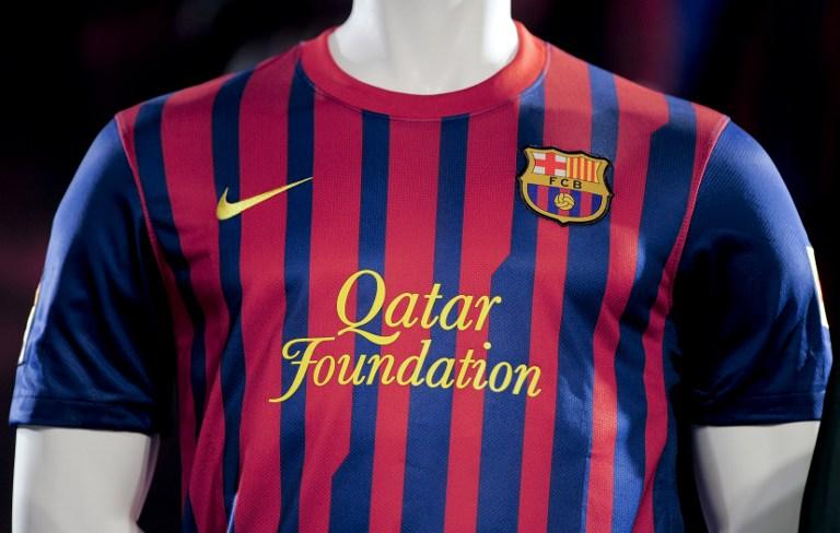 Camiseta del Barcelona del año 2011