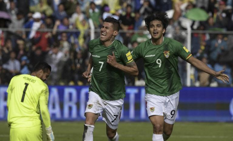 Gol de Bolivia contra Argentina