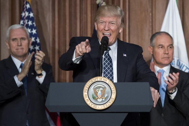Donald Trump sonriendo